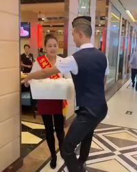 Roller dans un retaurant chinois