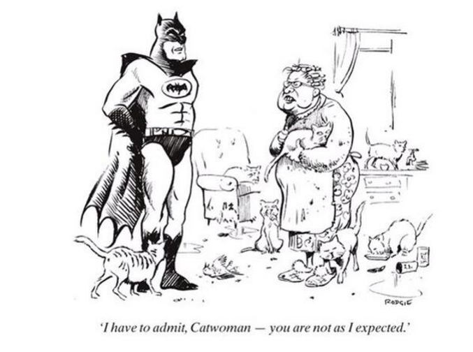 Quand tu te dis que ta vie est pourrie il faut parfois attendre, nul besoin d'efforts et tu as l'assurance d'avoir un jour the Batman chez toi  \o/