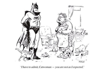 Batman rencontre Catwoman