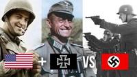 USA + Allemands VS Nazis : une des batailles les plus atypiques de la 2de Guerre mondiale