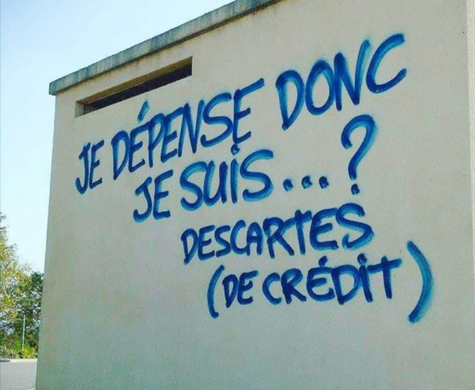 Par Descartes.