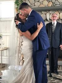Photobomb au mariage