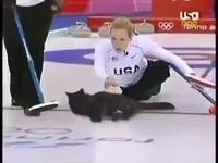 Un peu de curling