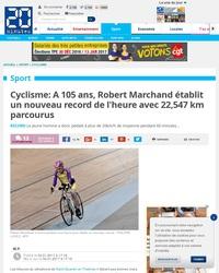 Tout roule pour Robert Marchand