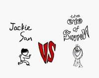 Animation Jackie Chan en gif