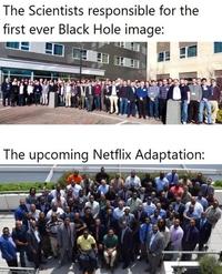 Les scientifiques à l'origine de l'image du trou noir