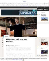 Conseils d'investissements, By Bill Gate