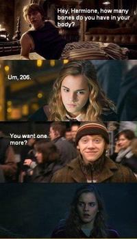 Les os d'Hermione