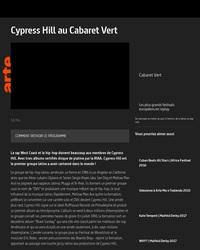 Concert de Cypress Hill au Cabaret Vert