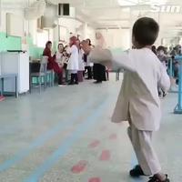 Content de sa prothèse
