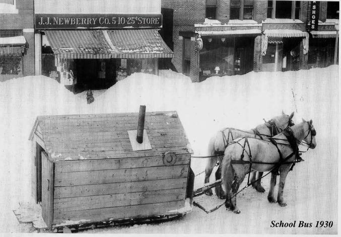 Dans l'état du Maine, en 1930.