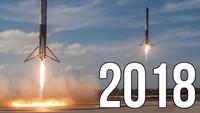 Compil' des lancements de 2018
