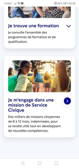 Il n'y a que moi que ça dérange cette image de promotion pour les missions de service civique ? Je trouve que ça très sectaire, non ?