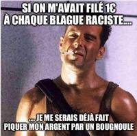 Blague raciste