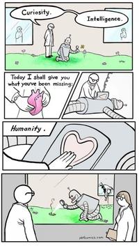 Une histoire de robot