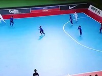 What a goal this is from the Iran women's futsal team