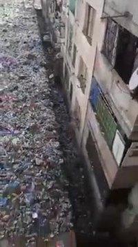 Il serait temps de nettoyer en bas de l'immeuble