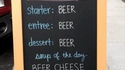 Y a quoi au menu ?