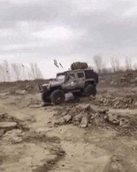 Jeep, version open... très open !