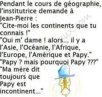 Question géographie
