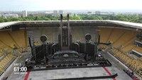 Scène de Rammstein