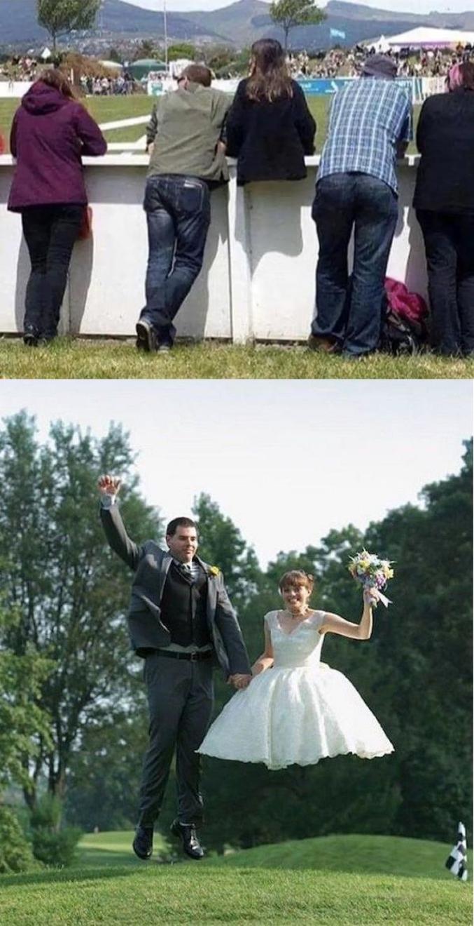...un gars est sorti avec elle et a fini par l'épouser !