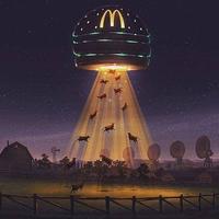 McDo alien