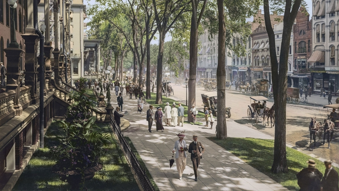 20 photos d'époque restaurées en couleurs : https://www.chambre237.com/20-photos-noir-et-blanc-historiques-restaurees-en-couleur/