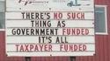 Le financement par le gouvernement est une utopie