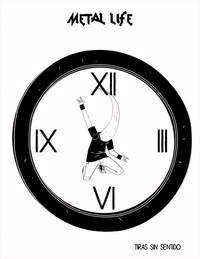 Une horloge à base de métal