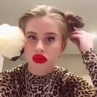 Un peu de rouge à lèvre