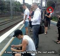 Un mec dans le monde réel