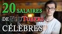 Les salaires de youtubers français