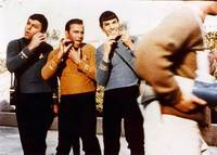 Phasers set to shave, Captain !