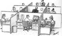 Bureau mal situé