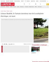 Léonce Rudelle, le Tarnais inventeur star de la mobylette électrique, est mort