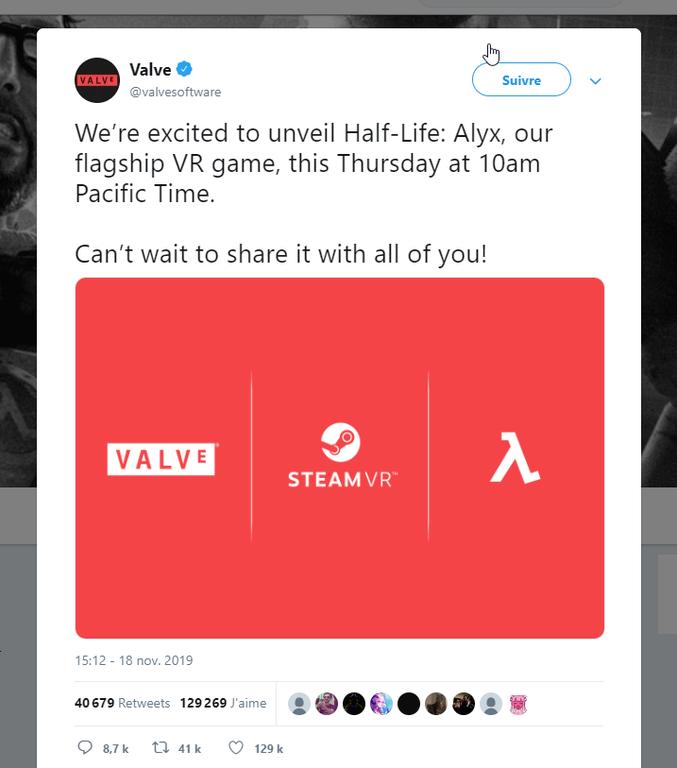 Bientôt la V3 en VR, ou alors j'ai rien compris :/