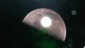Belle photo de lune