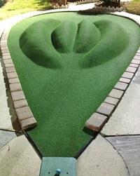 Mini-golf coquin