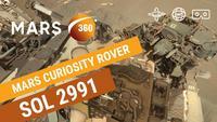 Le sol martien en 8K (utilisez la souris pour faire défiler le paysage)