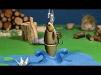 Partie de pêche en stop-motion