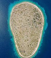 L'île de Bavljenac, en Croatie