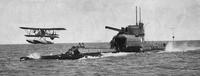Le porte-avion sous-marin HMS M2