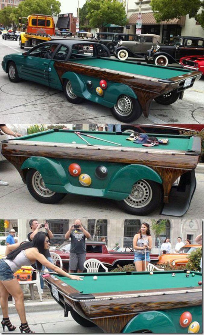 billard voiture