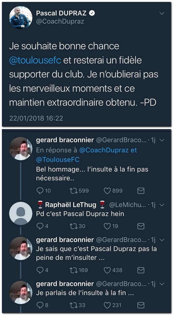 Pascal Dupraz, c'est PD, c'est juste ? Bah voilà !