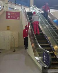 Prendre l'escalator comme un skieur olympique