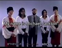 My name is Michael Jackson