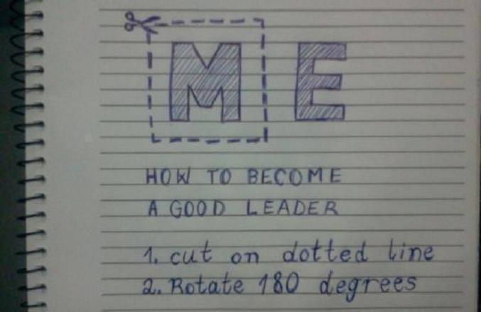 Ou comment résumer la politique en deux instructions...