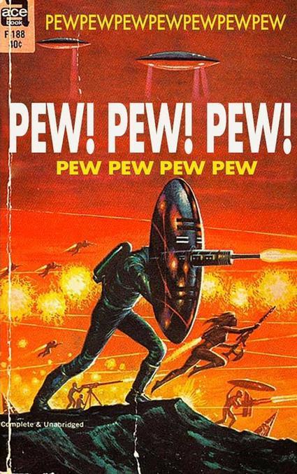 Mon pew est tellement pewsuissant il va tous vous pewlvériser.