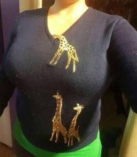 Girafe curieuse